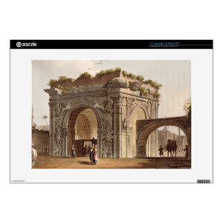"""A Triumphal Arch of Tripoli in Barbary, plate 24 f 15"""" Laptop Decals"""