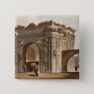 A Triumphal Arch of Tripoli in Barbary, plate 24 f Button