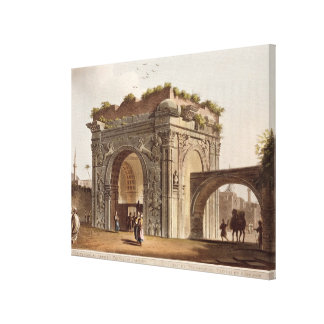 A Triumphal Arch of Tripoli in Barbary, plate 24 f Canvas Print