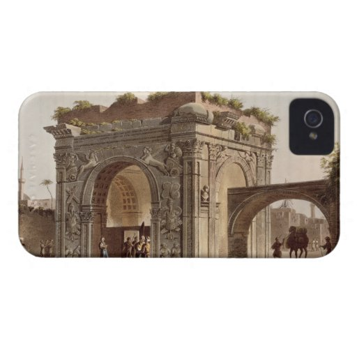 A Triumphal Arch of Tripoli in Barbary, plate 24 f iPhone 4 Case-Mate Case