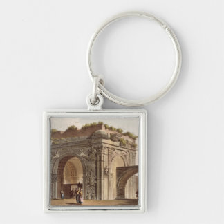 A Triumphal Arch of Tripoli in Barbary, plate 24 f Keychain