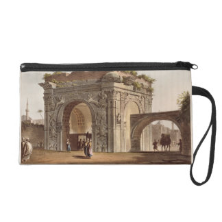 A Triumphal Arch of Tripoli in Barbary, plate 24 f Wristlet Purse