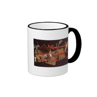 A Trompe L'Oeil of Objects Ringer Coffee Mug