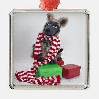 A Trooper Timberwolf Christmas Metal Ornament