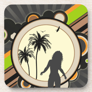A Tropical Interest Coaster