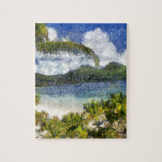 A tropical paradise puzzles