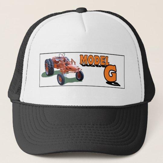 a trucker hat