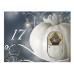 A True Fairy Tale Table Number Card Post Cards