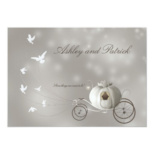 Fairy Tale Wedding Invitations can inspire you to create best invitation template