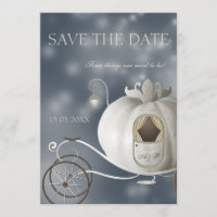 A True Fairy Tale Wedding Save the Date