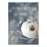A True Fairy Tale Wedding Save the Date Card