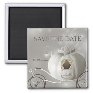 A True Fairy Tale Wedding Save the Date Magnet