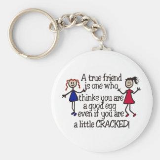 A True Friend Keychain