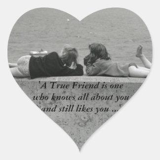 A True Friend Sticker