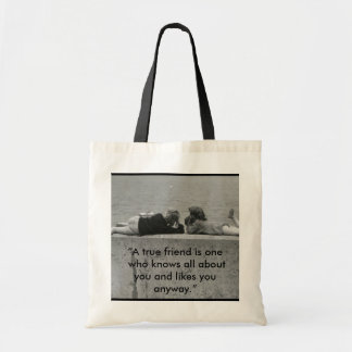 A True Friend Tote Bag