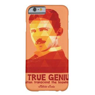 A True Genius -Nikola Tesla- Barely There iPhone 6 Case