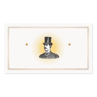A True Gentleman Vintage Business Card