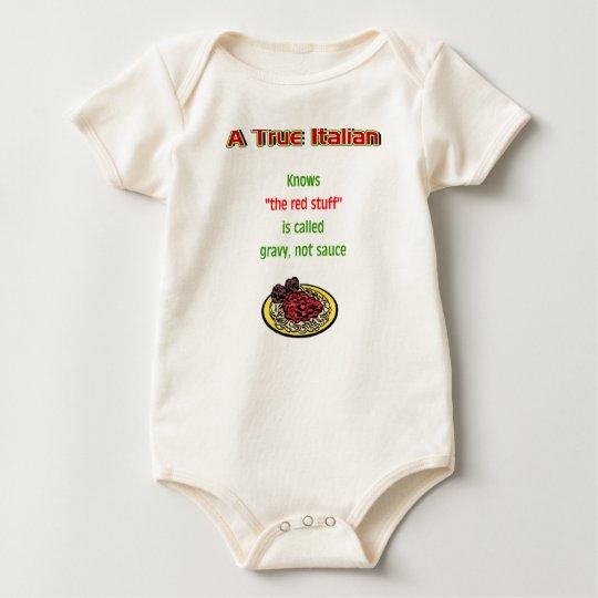 A True Italian Baby Baby Bodysuit