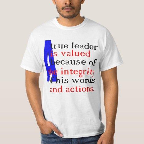 A True Leader T-Shirt (back)