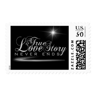 A True Love Story Never Ends Postage