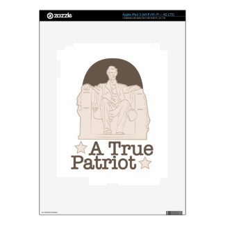 A True Patriot iPad 3 Skins