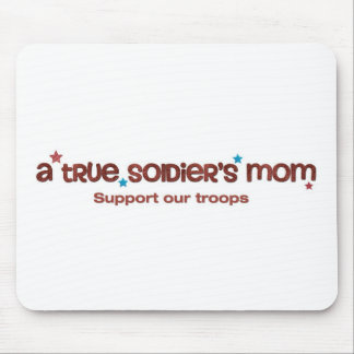 A true soldier's mom mousepad