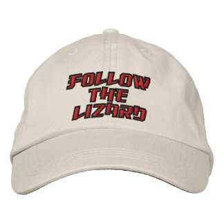 A Truly Copasetic Lid Embroidered Hat