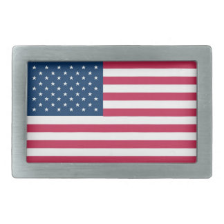 A truly patriotic gift: American Flag Rectangular Belt Buckle