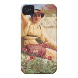 A Tryst - John William Godward iPhone 4 Cover