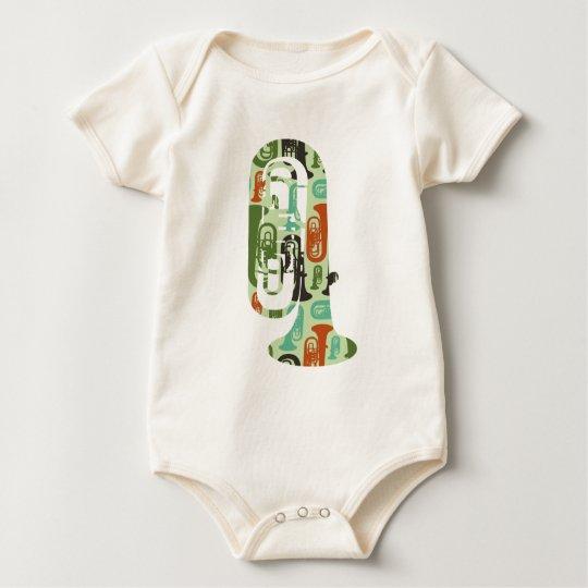 A Tuba of Tubas Baby Bodysuit