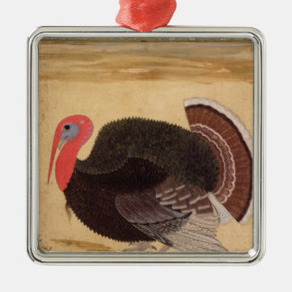 A turkey-cock, brought to Jahangir Metal Ornament