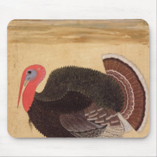 A turkey-cock, brought to Jahangir Mouse Pad