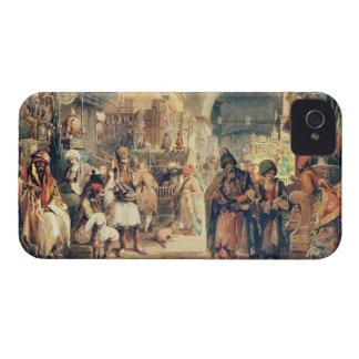 A Turkish Bazaar, 1854 (pencil & w/c on paper) Case-Mate iPhone 4 Cases