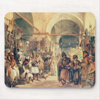 A Turkish Bazaar, 1854 (pencil & w/c on paper) Mouse Pad