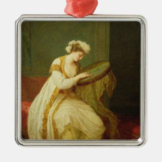 A Turkish Woman, 1773 Metal Ornament