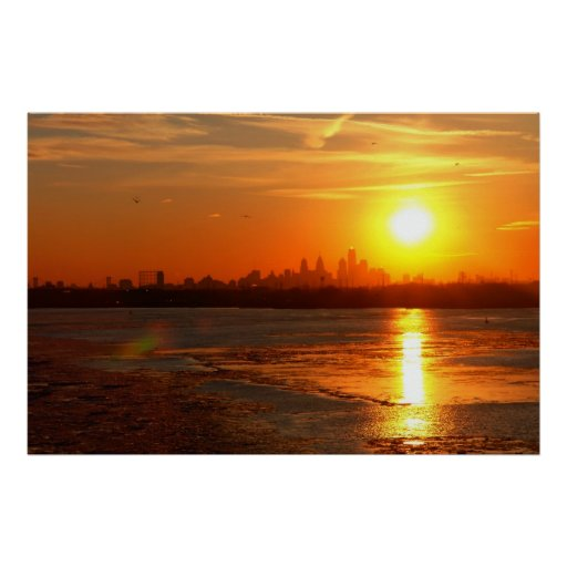 A Turner Sunset Print