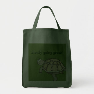 A Turtle slowly going green! Bag.