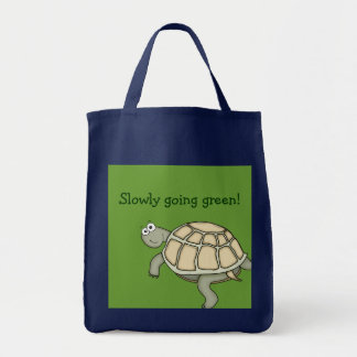 A Turtle slowly going green! Bag. Tote Bag