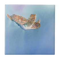 A Turtles Flight Sea Turtle Tile