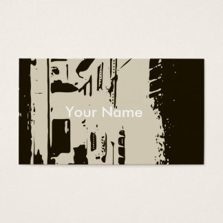 A Tuscan Brick Alleyway of Rome Business Card