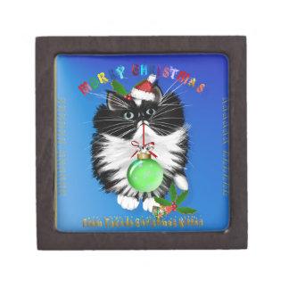 A Tuxedo Kitten Christmas Premium Gift Box