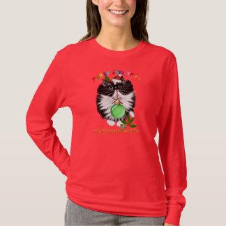 A Tuxedo Kitten Christmas Shirt