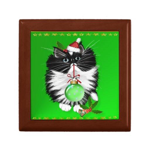 A Tuxedo Merry Christmas Gift Box