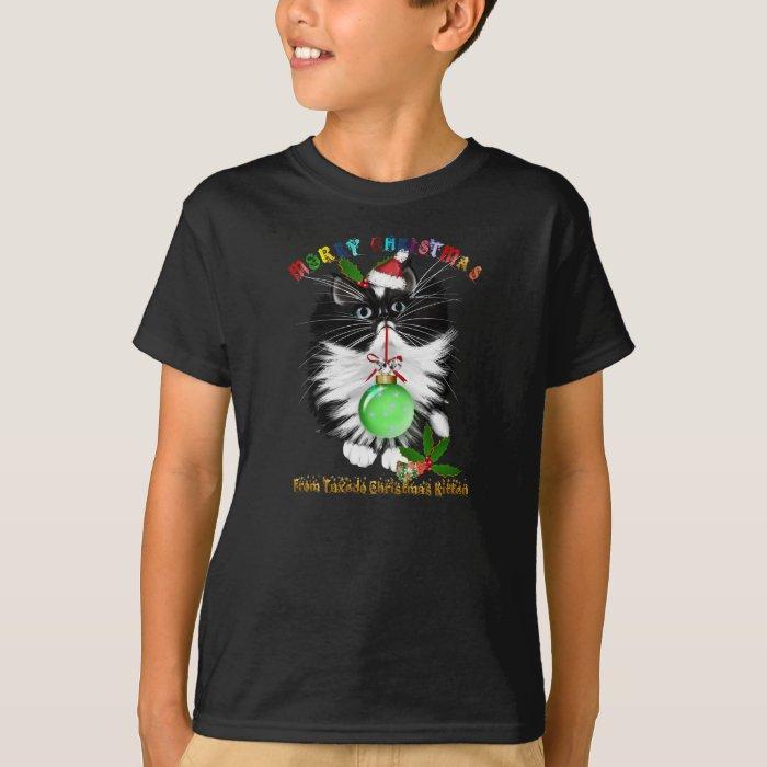 A Tuxedo Merry Christmas T-Shirt