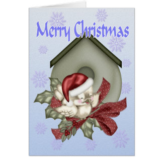 A Tweeting Christmas Greeting Card