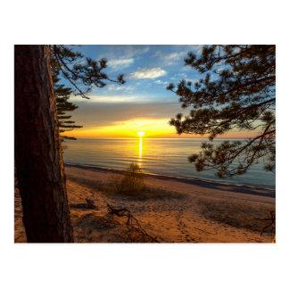 A Twelve Mile Sunset Postcard