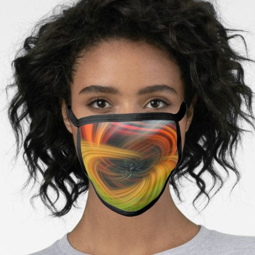 A Twirl Face Mask