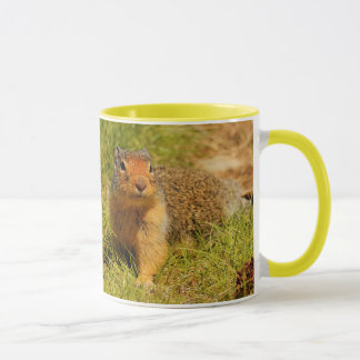 A Twitchy-Nosed Columbian Ground Squirrel Mug