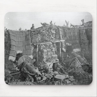 A Two Gun Battery during the Crimean War, c.1855 Mouse Pad