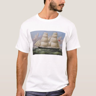 A Two Masted Schooner off Dover (oil on canvas) T-Shirt